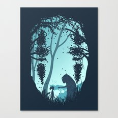 Lonely Spirit Spirited Away Canvas Print