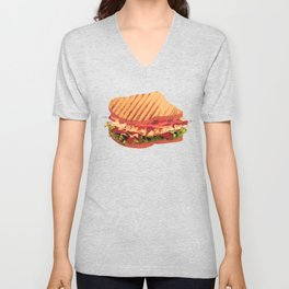Photo filter sandwich Unisex V-Neck