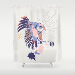 Sweet Coco Shower Curtain