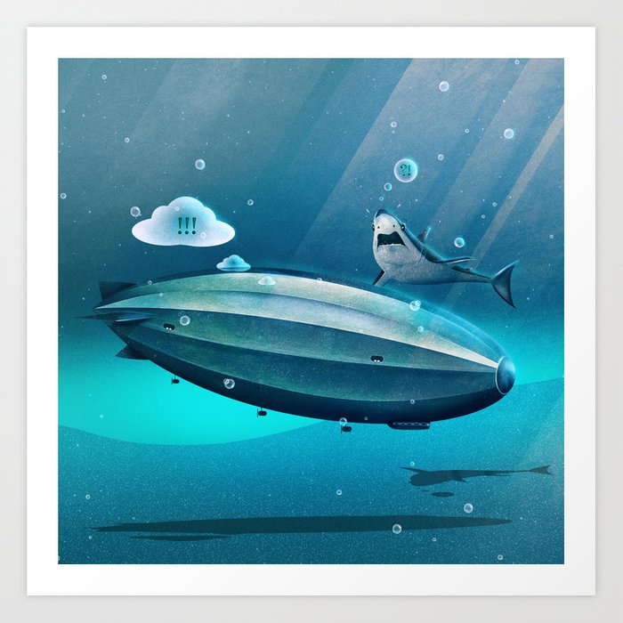 Weird Waters Art Print