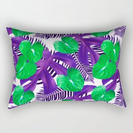 Anthurium green Rectangular Pillow