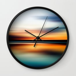 Abstract Landscape 15 Wall Clock