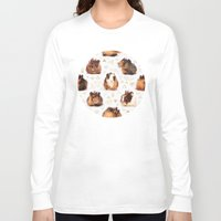 guinea pig Long Sleeve T-shirts featuring The Essential Guinea Pig by micklyn
