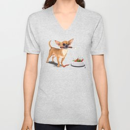 Spicy (Wordless) Unisex V-Neck