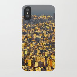 Beirut sunset iPhone Case