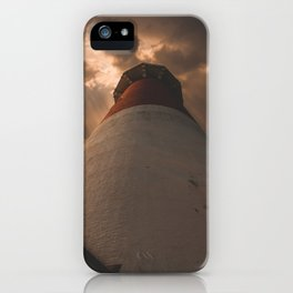Luminous Lighthouse on Long Beach Island iPhone Case