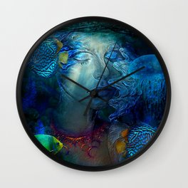 WHISPERS FROM THE SEA Wall Clock