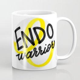 ENDO Warrior - Endometriosis Awareness Art - Advocate Coffee Mug