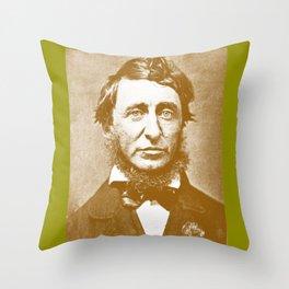 Thoreau Pillow/Thoreau Blanket/Thoreau Rug Throw Pillow