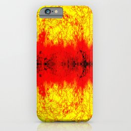 Intense color abstract iPhone Case