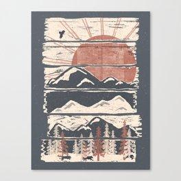 Winter Pursuits... Canvas Print