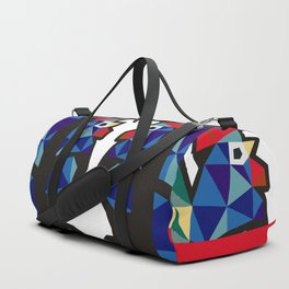 Polish Folk Rooster Duffle Bag