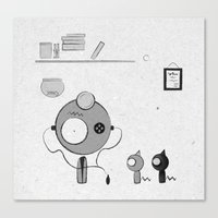 doctor Canvas Prints featuring Doctor by iodine