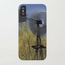Spinning in the Wind iPhone Case