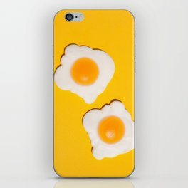 Sunny side up eggs iPhone Skin