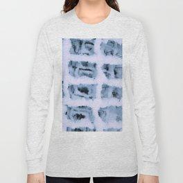 Snow Pattern Long Sleeve T-shirt