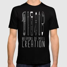 Weapons Of Mass Creation (on grey) T-shirt