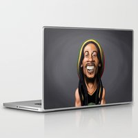 marley Laptop & iPad Skins featuring Celebrity Sunday - Robert Nesta Marley by rob art | illustration