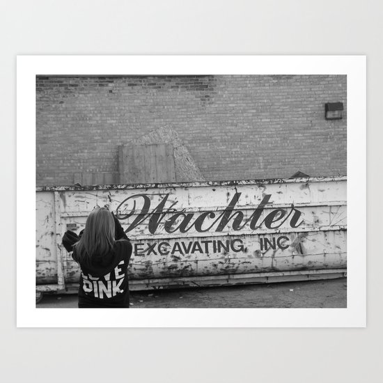Picturing Big Art Print