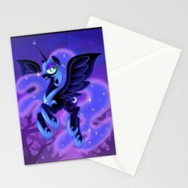 Nightmare Moon Stationery Cards
