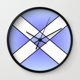 Saint andrew's cross 2- Wall Clock