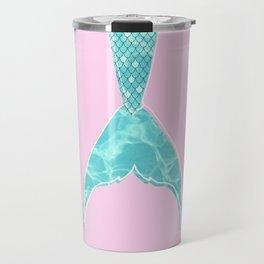 summer ish mermaid tail Travel Mug