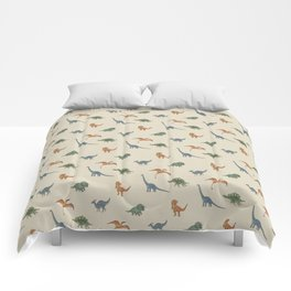Dino Pals (Khaki) Comforters