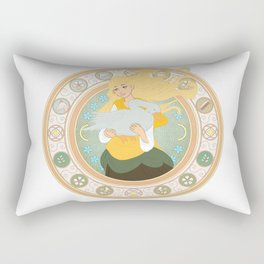Goose Girl Rectangular Pillow