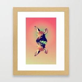 Fawny Framed Art Print