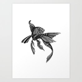 Celty the Ornate Fish Art Print