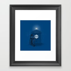 Dr Who Who? Framed Art Print