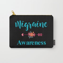 Migraine Headache Pain Awareness Carry-All Pouch