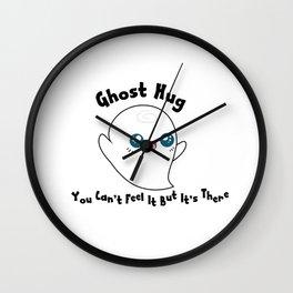 Kawaii Ghosty Wall Clock