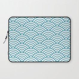 Japanese Waves Seigaiha Laptop Sleeve