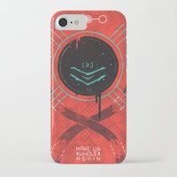 dead space iPhone & iPod Cases featuring Dead Space by Hector Mansilla