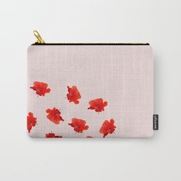 poppy for texture Carry-All Pouch