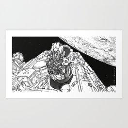 20XX: A SpaceX Odyssey Art Print