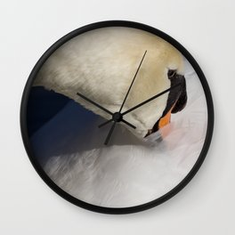 The Quiet Swan Wall Clock