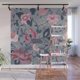 Indian Floral motif Wall Mural