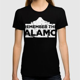 Distressed 1836 Texas Alamo T-shirt