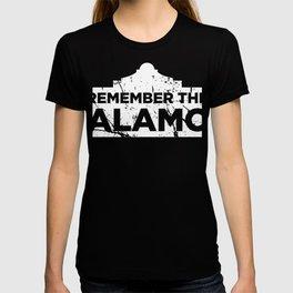Distressed 1836 Texas Alamo T-shirt