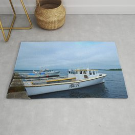 Ready to Go Fishing Rug