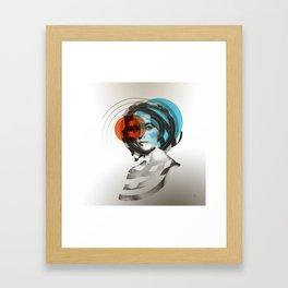 Der Kreis der Erinnerung 4 Framed Art Print