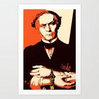 Houdini Art Print