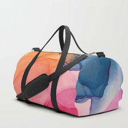 Tropical Bliss - Alcohol Ink Painting Duffle Bag