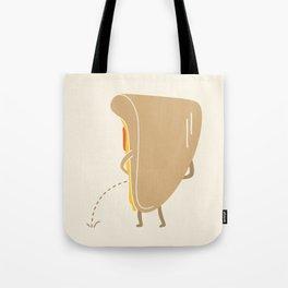 Pee-zza Tote Bag