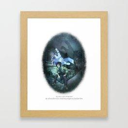 Behind You 84 Framed Art Print