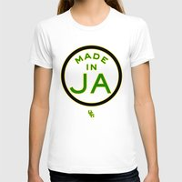 jamaica T-shirts featuring Made in Jamaica by DCMBR - December Creative Group