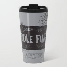 Middle Finger! Travel Mug