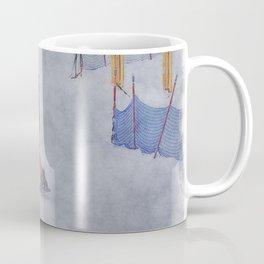 Sliding into Home - Winter Snowboarder Coffee Mug